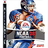 NCAA Football 08 - Playstation 3 ~ Electronic Arts