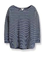 ESPRIT Camiseta Manga Larga (Azul)