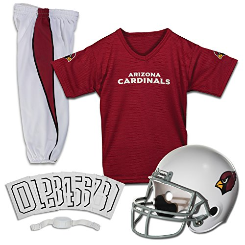 Franklin Sports NFL Arizona Cardinals Deluxe Youth Uniform Set, Small
