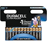 Duracell Pile Alcaline Ultra Power AAA 12 Piles