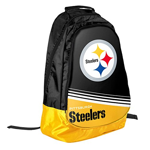 NFL Pittsburgh Steelers 2015 Stripe Core Backpack, Black from Columbus Sports