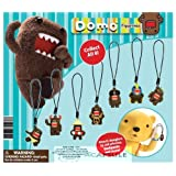 DOMO 3D Figure Cell Phone Charm, Camera Charm, Zipper puller - Set of 8