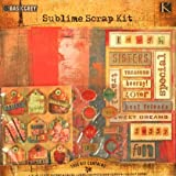 Sublime Scrapbooking Kit 12 x 12 // Basic Grey
