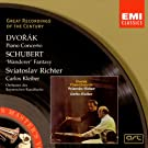 Dvorak : Concerto pour piano, Schubert : Fantaisie Wanderer