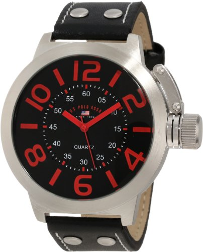 U.S. Polo Assn. Classic Men'S Us5205 Analog Watch With Black Band