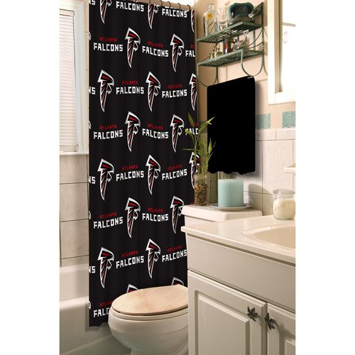 Atlanta Falcons Fabric Shower Curtain at Amazon.com