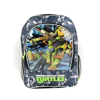Amazon.com: TMNT Ninja Turtle Backpack Book Bag School