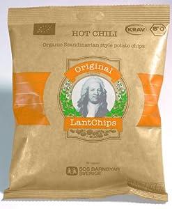 Original LantChips - Kartoffelchips Hot Chili, Bio 100g