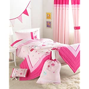 Thermal Blackout Lined Hot Pink Curtain - Curtains and Curtains UK