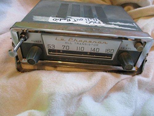 Vintage LE Chaperon 8 Transistor All Purpose Civil Defense Radio Battery Operated (Vintage Radio Transistor compare prices)