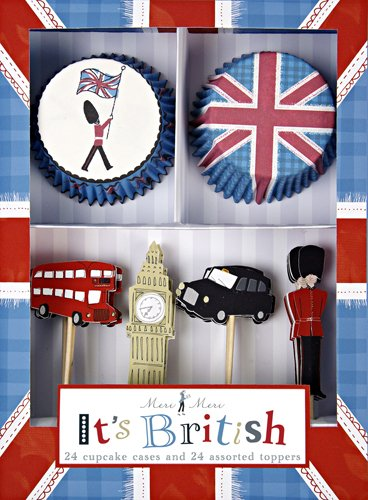 Meri Meri It's British Cupcake Kit