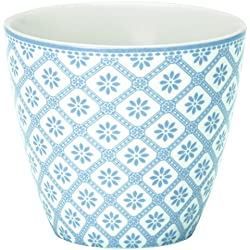 Latte Becher, Bianca Dusty Blue von GREENGATE