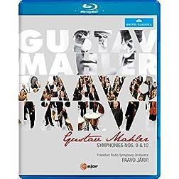 Mahler: Symphonies Nos. 9 & 10 [Blu-ray]