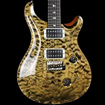 PRS Custom 24 - Obsidian 10 Top Quilt - Pattern Thin Neck - 2014 Model #208344