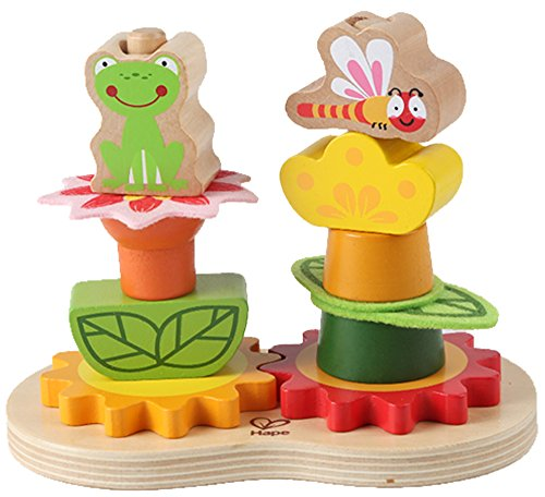 Hape Early Explorer Garden Gear Stacker - 1