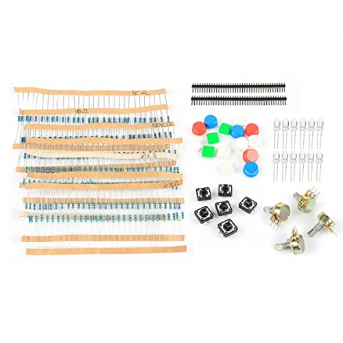 SainSmart Electronic Parts Pack KIT for ARDUINO component Resistors Switch Button HM