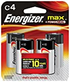 Energizer C-Cell 4-Pack