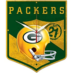 Wincraft Green Bay Packers High Def Legacy Clock by Wincraft