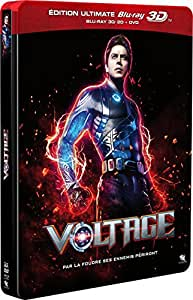 Voltage [Édition Ultimate Blu-ray 3D + Blu-ray + DVD] [Édition Ultimate Blu-ray 3D + Blu-ray + DVD - Boîtier SteelBook]