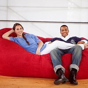 Bean Bag Sofa Color: Cinnabar from Jaxx