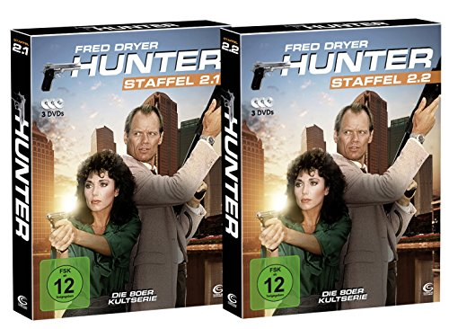 Hunter - Gnadenlose Jagd (Die komplette Staffel 2 auf 6 DVDs in 2 Digipacks mit Schuber plus Episodenguide) (exklusiv bei Amazon.de)