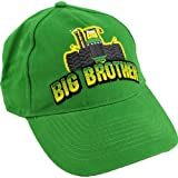 "John Deere ""Big Brother"" Green Youth Baseball Cap Hat S/M-L/XL (L/XL)"