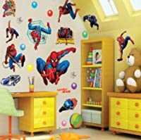 Super Hero Spider-man Wall Sticker Decor Decals for Kids Nursery Room Art from Other