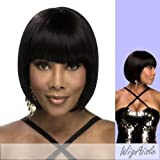 H291-V (Vivica A. Fox) - Human Hair Full Wig in OFF BLACK