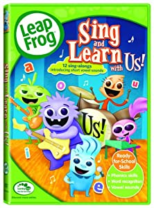 Sing and Learn with Us! DVD | Kids Educational Games ...