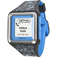 MetaWatch STRATA - Olympian Blue / Camo Smartwatch (MW3004) for iPhone and Android from MetaWatch