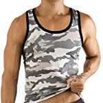 Pikante Forest Camouflage Tank Top