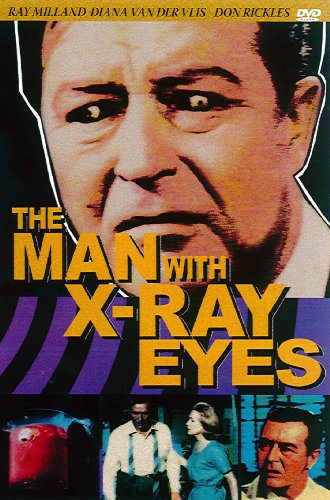 Ray Milland - The Man With the X-Ray Eyes (DVD)