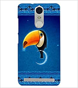 PrintDhaba Funny Image D-4136 Back Case Cover for LENOVO K5 NOTE (Multi-Coloured)