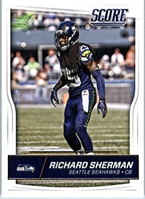 2016 Score #289 Richard Sherman Seattle Seahawks Football Card