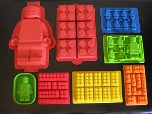 Baking A Lego Minifigure Cake
