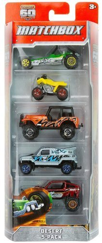 desert-5-vehicle-matchbox-60-anniversary-gift-set-series-as-shown-in-picture