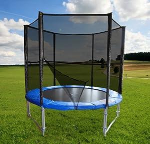sim buy trampolin 8ft 2 5 m beste angebot trampolin mit netz kaufen. Black Bedroom Furniture Sets. Home Design Ideas