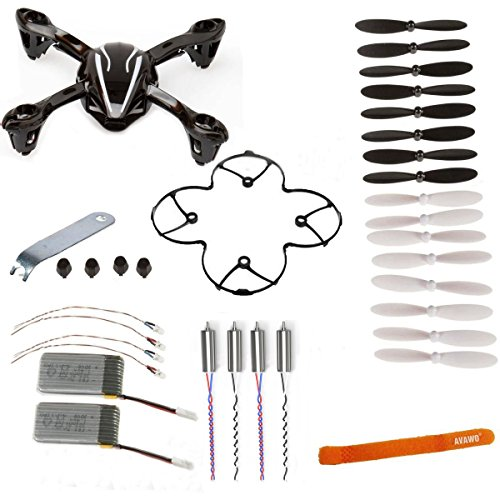 AVAWO for Hubsan X4 H107L 8-in-1 Quadcopter Black/White