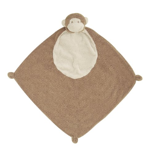 Angel Dear Blankie Pair and a Spare 3 Piece Set, Brown Monkey