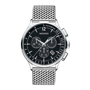 Movado Men's 0606803 Movado Circa Analog Display Swiss Quartz Silver Watch