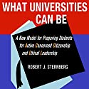 What Universities Can Be: A New Model for Preparing Students for Active Concerned Citizenship and Ethical Leadership Audiobook by Robert J. Sternberg Narrated by Bill Burrows