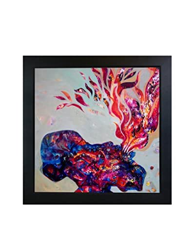 Sanjay Punekar Inner Light Framed Canvas Print