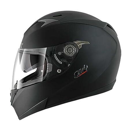 SHARK - Casque moto S700S FULL MAT - Taille : M - Couleur : Noir mat