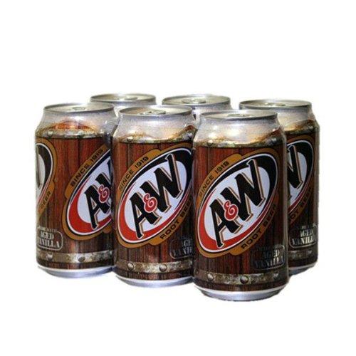 A&W ルートビア 355ml 【6缶】