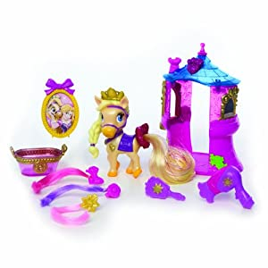 Amazon.com: Disney Princess Palace Pets Beauty and Bliss Playset ...