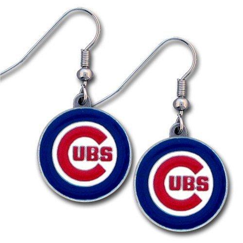 MLB Chicago Cubs Dangle Earrings