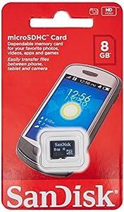 SanDisk SDSDQM-008G-B35 8 GB Class 4 MicroSDHC Card (Label May Change)