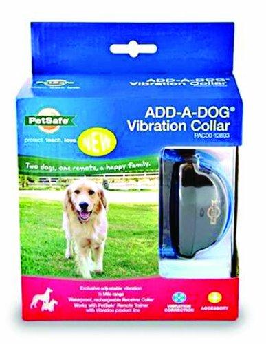 Petsafe - Electronics Pac00-12893 Petsafe Add-A-Dog Vibration Collar For 535884 Black