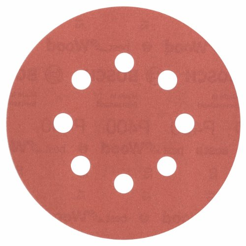 2608605067 Sanding Accessory Sanding Disc 125 Mm R:wt Grainage: 400 By Bosch
