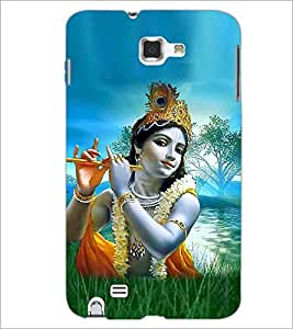PRINTSWAG LORD KRISHNA Designer Back Cover Case for SAMSUNG GALAXY NOTE 1 N7000